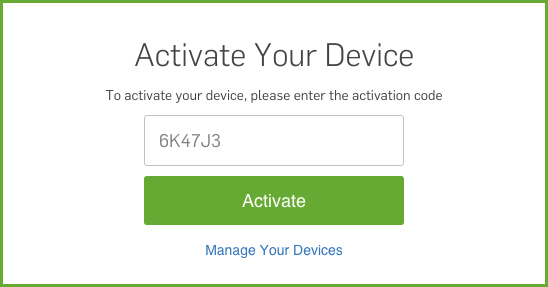 Hulu plus activate device code