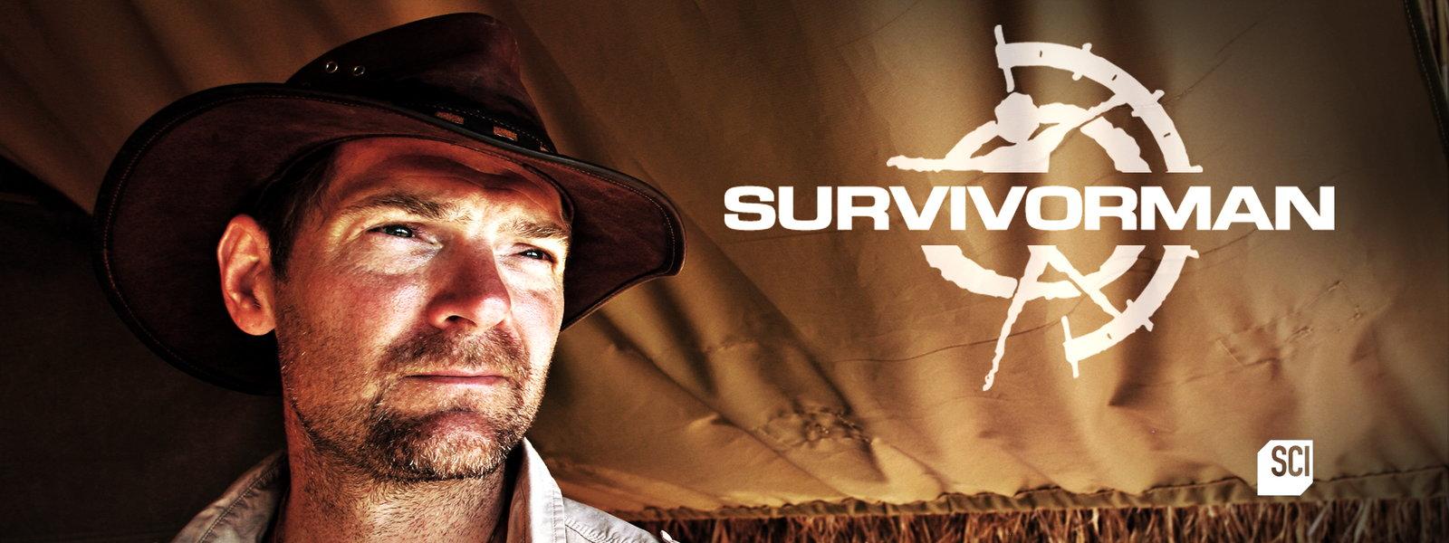 SURVIVORMAN : émission de survie