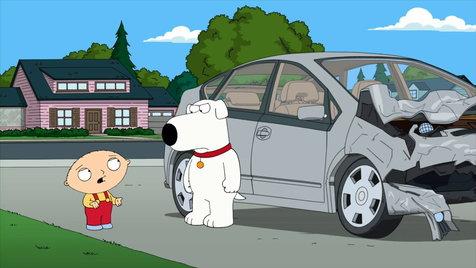 Family Guy Car Crash Clip Hulu
