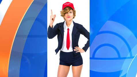 Sexy Donald Trump' Halloween Costume On Sale for $70 Clip | Hulu